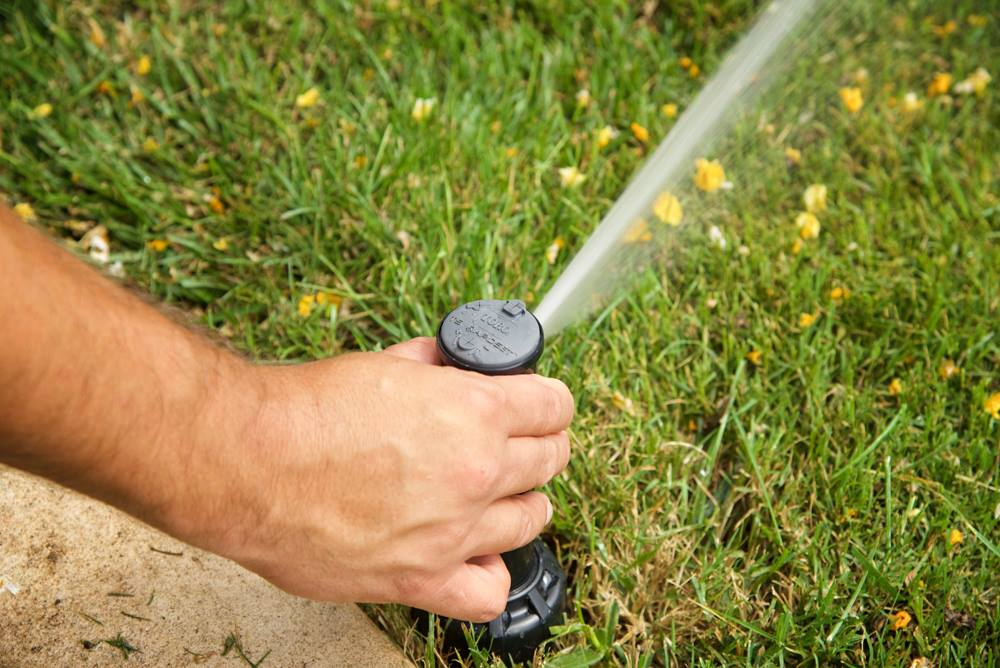 fall sprinkler tune-up Oklahoma City